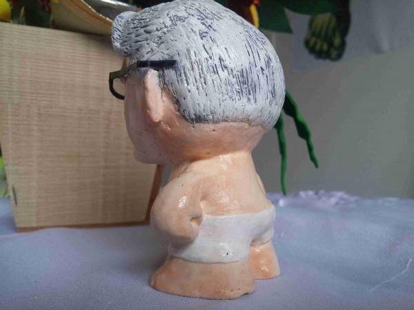 Joseph Pilates Miniatura Escultura