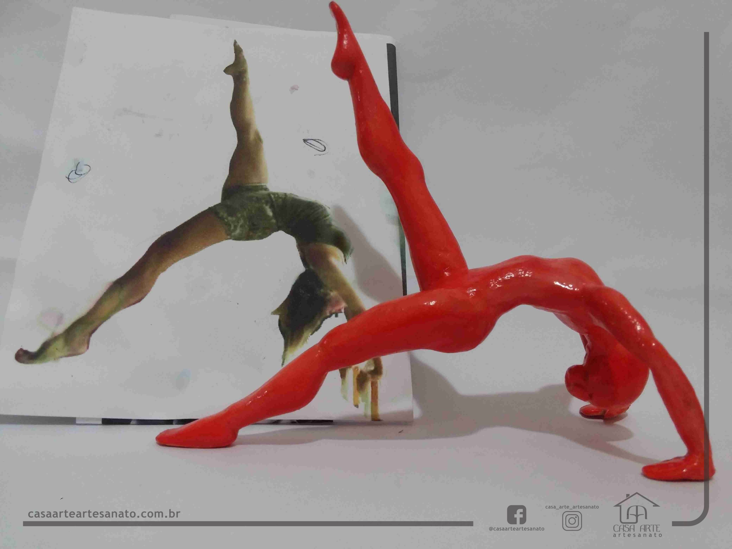Pilates | Escultura de Biscuit | High Bridge
