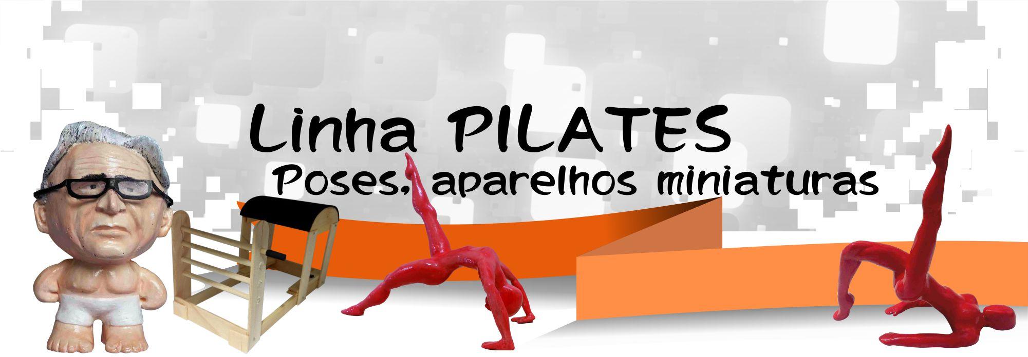 Joseph Pilates Escultura / Casa Arte Artesanato