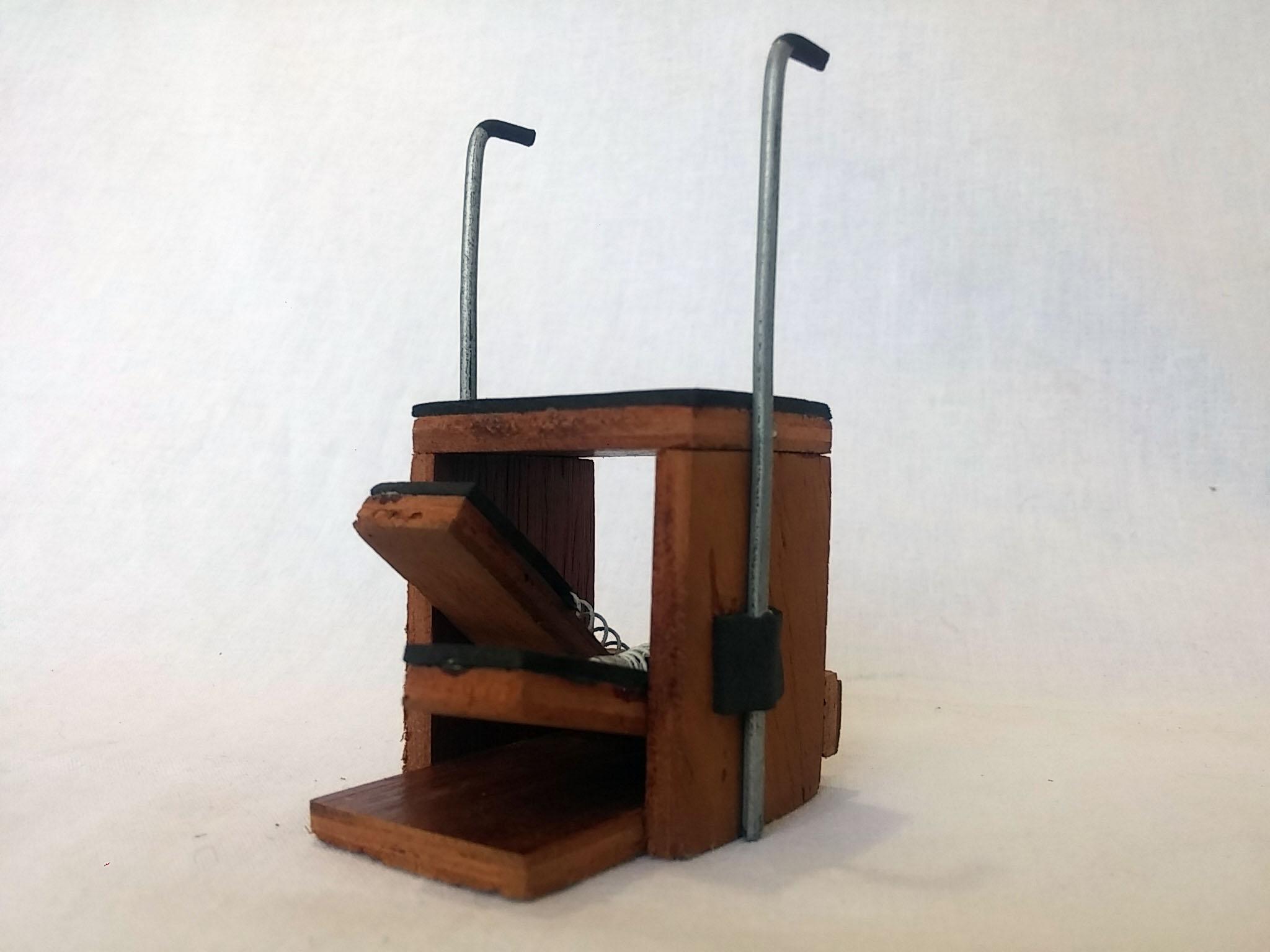 Chair Aparelho de Pilates Miniatura