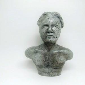 Joseph Pilates Busto Miniatura
