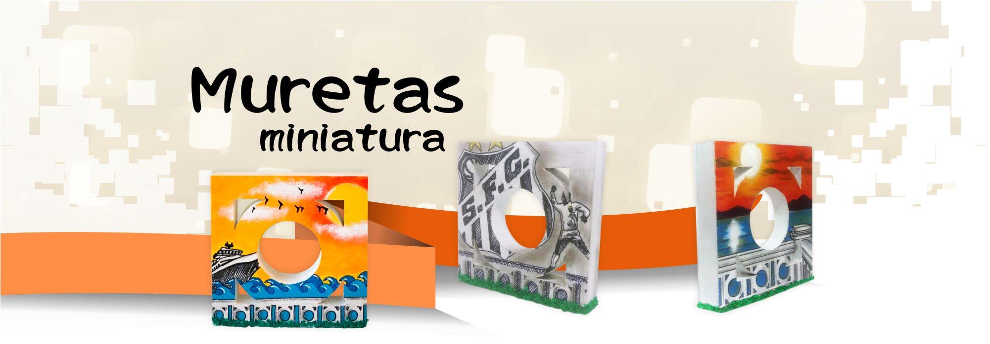 Muretas Miniatura de Santos