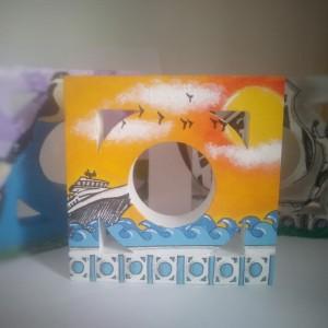 Muretas Miniatura de Santos Mar e Navio - Casa Arte Artesanato 2