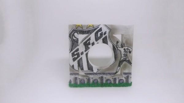 Muretas Miniaturas de Santos Santos FC - Casa Arte Artesanato 1